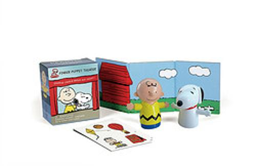 Peanuts Finger Puppet Theater: Starring Charlie Brown and Snoopy!