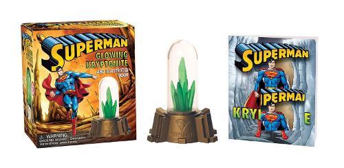 Superman: Glowing Kryptonite and Illustrated Book: Superman: Glowing Kryptonite and Illustrated Book WITH Glowing Kryptonite and Illustrated Book