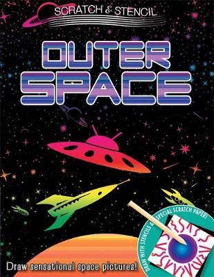 Scratch & Stencil: Outer Space (Paperback)