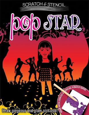Scratch & Stencil: Pop Star (Paperback)