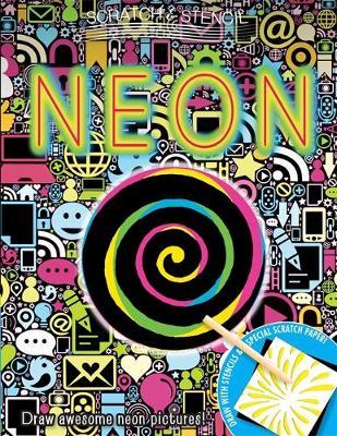 Scratch & Stencil: Neon (Paperback)