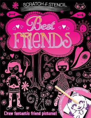 Scratch & Stencil: Best Friends (Paperback)