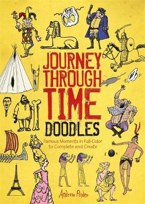 Journey Through Time Doodles (Paperback)
