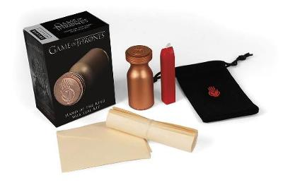 Game of Thrones: Hand of the King Wax Seal Kit (Paperback)