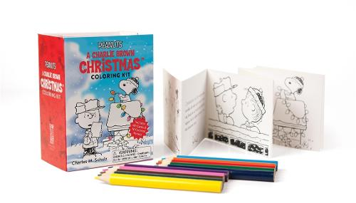 Peanuts: A Charlie Brown Christmas Coloring Kit (Paperback)