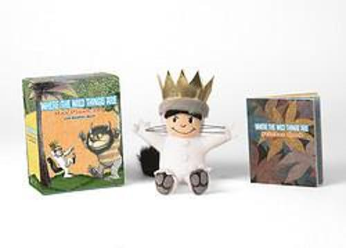 Where the Wild Things Are: Max Plush Toy and Sticker Book (Paperback)