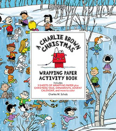 A Charlie Brown Christmas Wrapping Paper Activity Book (Paperback)