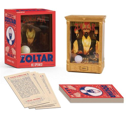 Mini Zoltar: He Speaks! (Paperback)