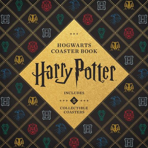 Harry Potter Hogwarts Coaster Book: Gryffindor, Ravenclaw, Hufflepuff, Slytherin (Board book)
