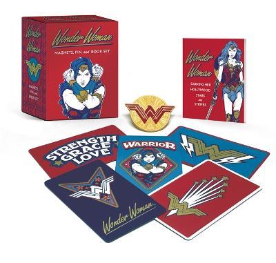 Wonder Woman: Magnets, Pin, and Book Set