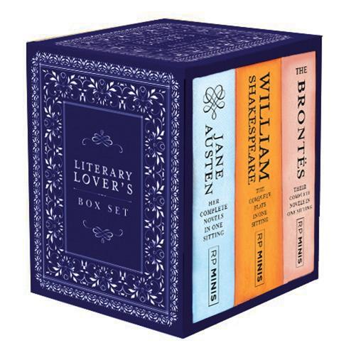 Literary Lover's Box Set (Hardback)