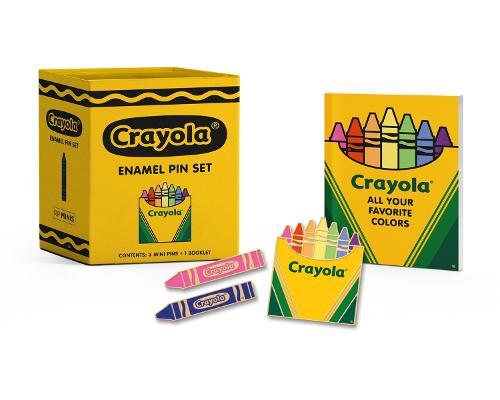 Crayola Enamel Pin Set