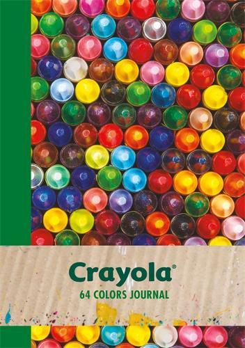 Crayola 64 Colors Journal (Paperback)
