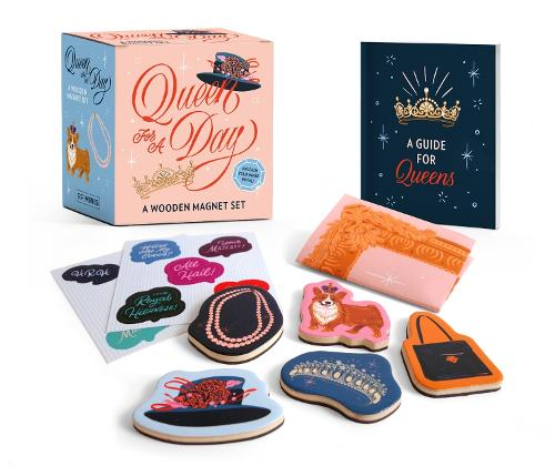 Queen for a Day: A Wooden Magnet Set
