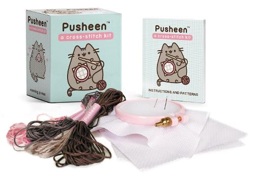 Pusheen: A Cross-Stitch Kit (Paperback)