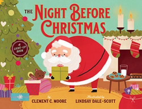 The Night Before Christmas: A Light-Up Book (Hardback)