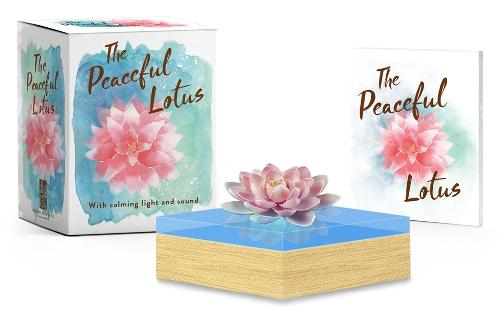 The Peaceful Lotus: With Calming Light and Sound
