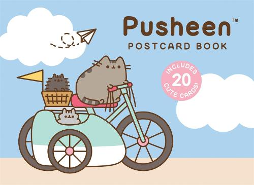Pusheen Postcard Book: Includes 20 Cute Cards! (Hardback)