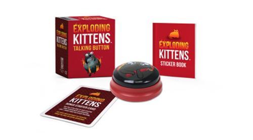 Exploding Kittens: Talking Button (Paperback)