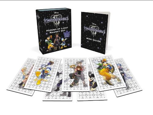 Kingdom Hearts Heroes of Light Magnet Set: With 2 Changing Poses!