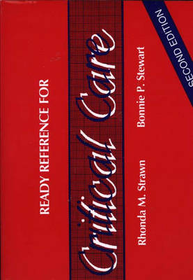 Ready Reference for Critical Care (Paperback)