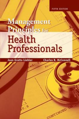 Management Principles for Health Professionals (Paperback)