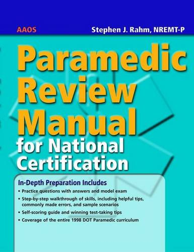 Paramedic Review Manual for National Certification (Paperback)