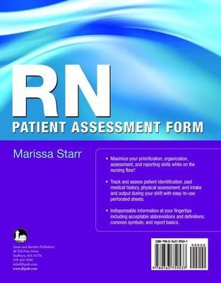 RN Patient Assessment Form (Paperback)