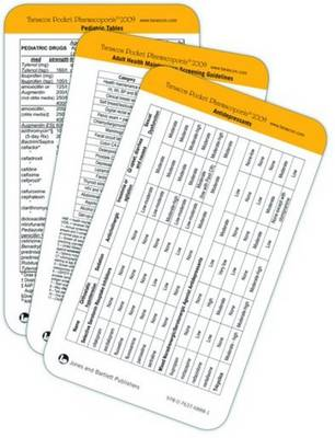 Antipsychotics and Anxiolytics - Tarascon Rapid Reference Cards