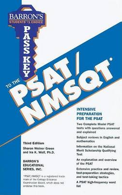 Pass Key to the PSAT/NMSQT (Paperback)
