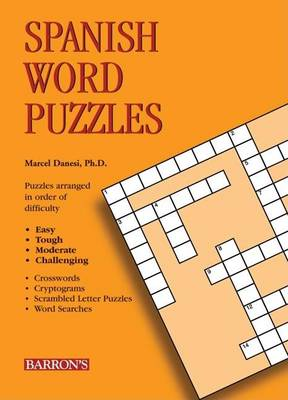 Spanish Word Puzzles - Foreign Language Word Puzzles S. (Paperback)