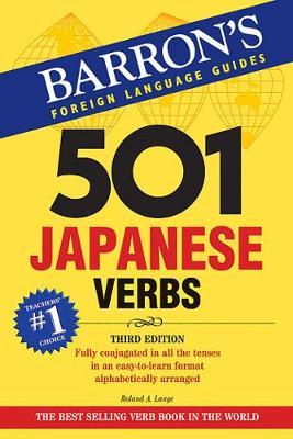 501 Japanese Verbs - Barron's 501 Verbs (Paperback)
