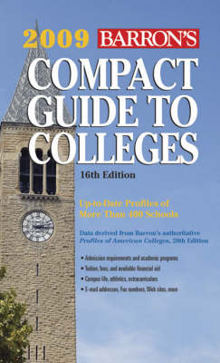 Compact Guide to Colleges 2009 (Paperback)