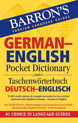 German-English Pocket Bilingual Dictionary - Foreign Language Guides (Paperback)