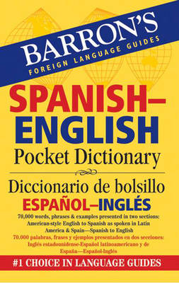 Spanish-English Pocket Bilingual Dictionary - Foreign Language Guides (Paperback)