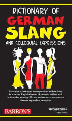 Dictionary of German Slang (Paperback)