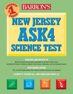 New Jersey ASK4 Science Test - Barron's Test Prep NJ (Paperback)