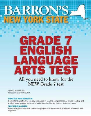 Barron's New York State Grade 7 English Language Arts Test - Barron's Test Prep NY (Paperback)