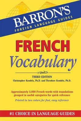 French Vocabulary - Barron's Vocabulary (Paperback)