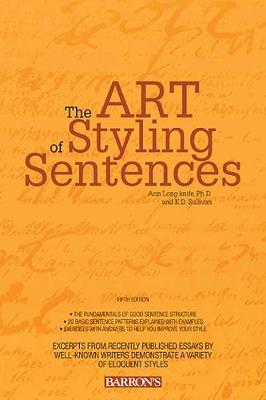 Art of Styling Sentences (Paperback)