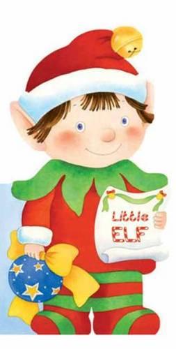 Elf: Mini People Shape Books (Board book)