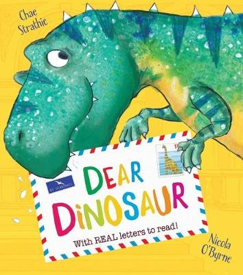 Dear Dinosaur: With Real Letters to Read! (Hardback)