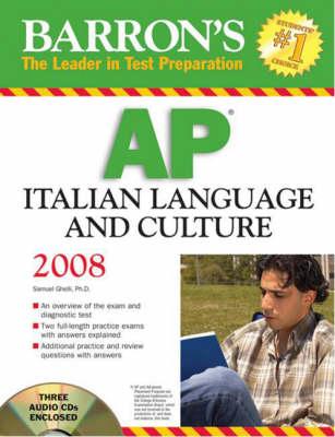 AP Italian Language and Culture (Paperback)