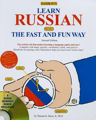 Barrons Learn a Language the Fast and Fun Way: Learn Russian the fast & fun way (Paperback)
