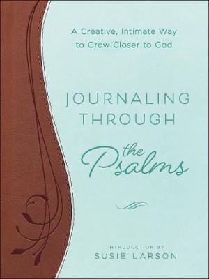 Journaling Through the Psalms: A Creative, Intimate Way to Grow Closer to God (Hardback)