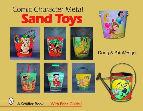 Comic Character Metal Sand Toys (Hardback)