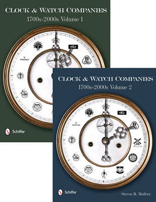 Clock and Watch Companies 1700s-2000s (Hardback)
