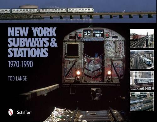 New York Subways and Stations: 1970-1990 (Hardback)