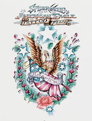 Spider Webb's American Eagle Tattoo Flash (Hardback)