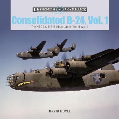 Consolidated B-24 Vol.1: The XB-24 to B-24E Liberators in World War II (Hardback)